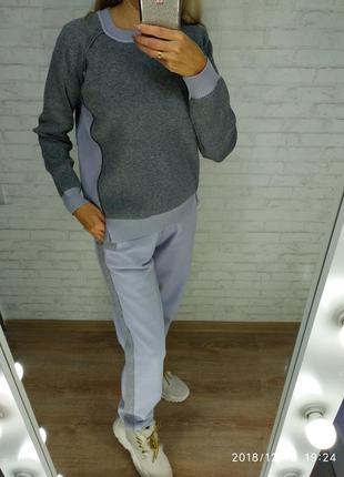 Кашемировый теплый костюм brunello скидка