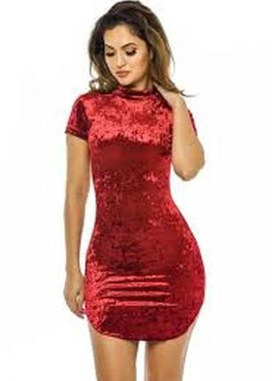 Бархатное,велюровое платье ax paris