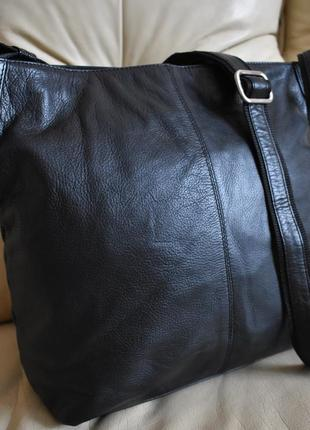 Большая кожаная сумка – 100% натуральная мясистая кожа