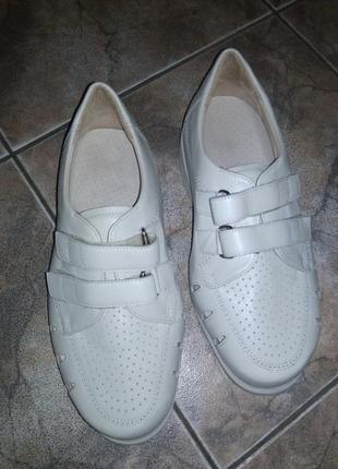 Туфлі ортопедичні шкіра