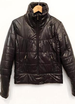 Стильная укороченная куртка пуховик adidas