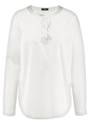 Женственная блуза туника 44р евро tcm tchibo германия смотрите замеры