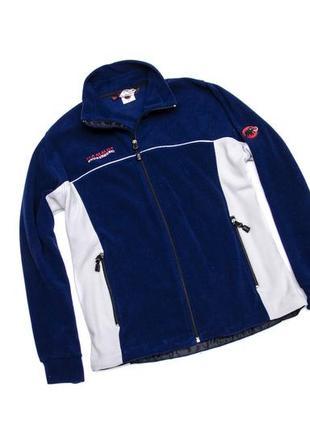 Флисовая куртка mammut snowsport tecnopile. размер l