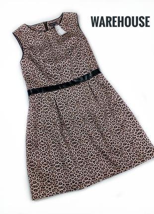 Красивое платье в леопардовый принт от warehouse