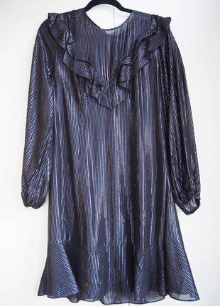 Блестящее, нарядное платье для новогодней вечеринки, корпоратива (л)
