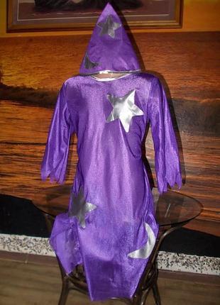 Маскарадное платье ночь на рост 104 см + колпак