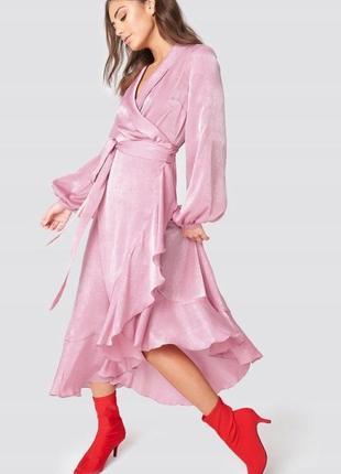 Na-kd романтична невагома рожева сукня