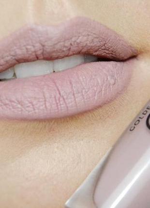 Матовая жидкая стойкая помада golden rose longstay liquid matte lipstick 10