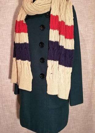 Шикарный огромный шарф от tommy hilfiger