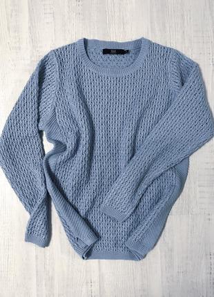 Женский вязаный джемпер свитер с круглым воротом isle essentials