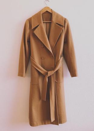 Пальто 30% шерсть 70% полиэстер