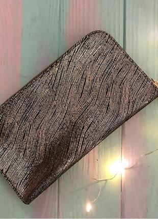 Женский кошелек из натуральной кожи (италия)