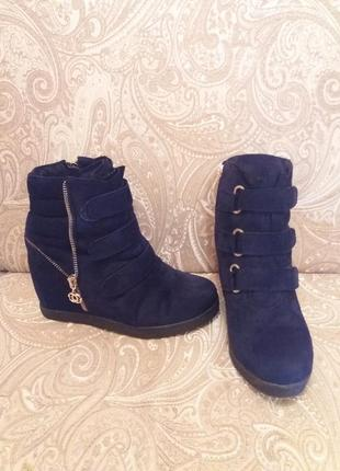Ботинки зимние 38 размер