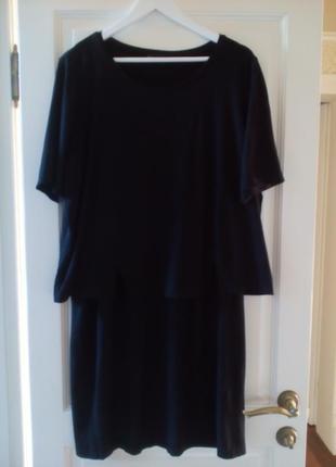 Платье  samoon  by gerry weber  р. 54-56    длина 100 см пог - 60+