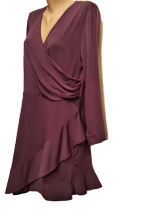 Брендовое трикотажное платье covington сша