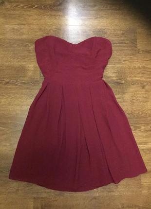 Платье бюстье нарядное