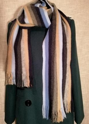 Шикарный шарф из 100% шерсти