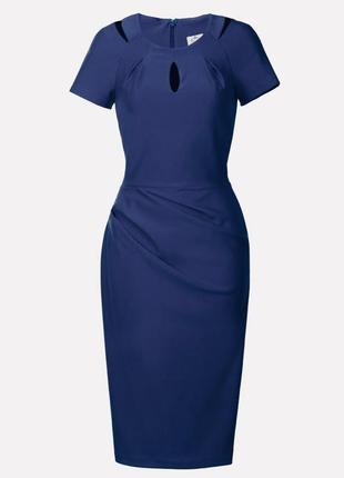 Элегантное платье футляр миди