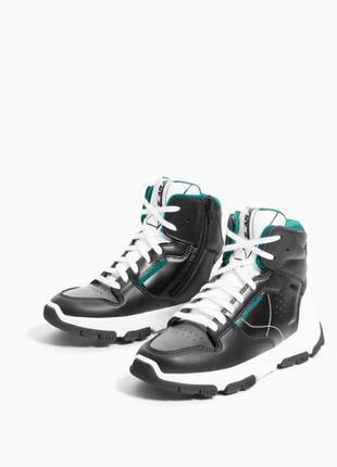 Продам новые высокие кроссовки кеды zara