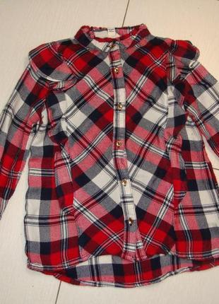 Модная блуза 18-24мес