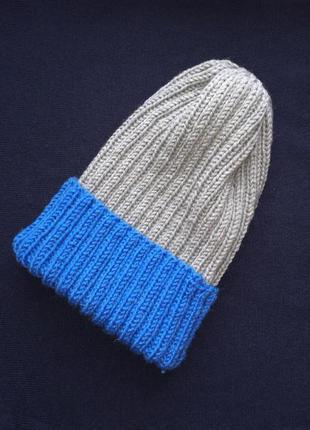 Модная шапка тыковка