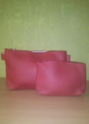 Набор сумок 3в1 jingpin , сумка-мешок, клатч и косметичка