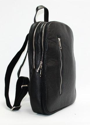 Большой рюкзак италия натуральная кожа