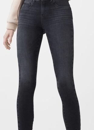Темные джинсы скинни push-up mango irina