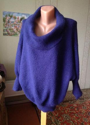 Оверсайз свитер,вязаная кофта, papaya