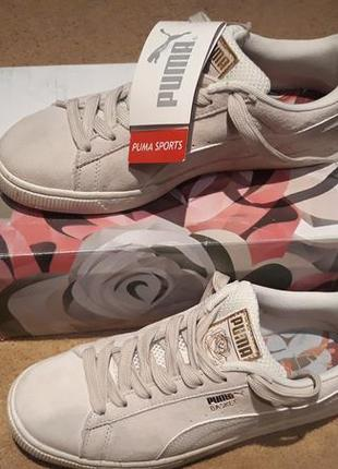 Puma, женские кроссовки,suede classic+
