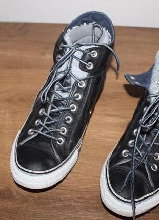 Кожаные кеды converse all star, 44 размер