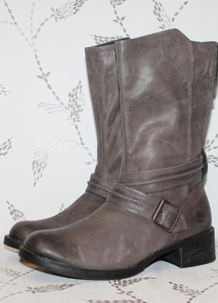 Кожаные сапоги timerland 40 размер 26,5 см стелька