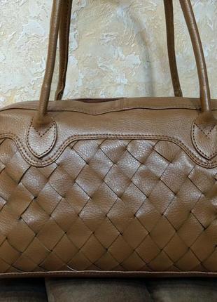 Красивая деловая сумка tommy & kate кожа