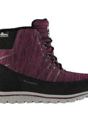 Кроссовки-ботинки зима karrimor