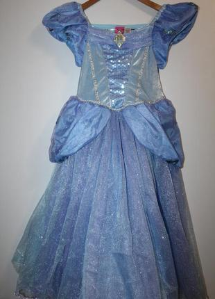 Нарядное платье принцессы на 9-10 лет. новое.