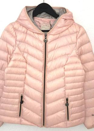 Куртка-пуховик esprit пудрового цвета