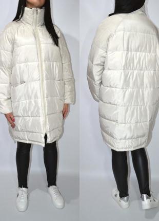 Куртка одеяло оверсайз h&m.