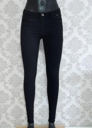 Базовые джинсы скинны denim co
