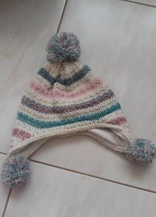 Утеплена шапка