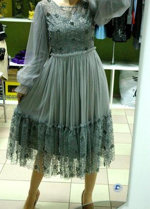 Очень красивое, нарядное, женственное, романтичное платье