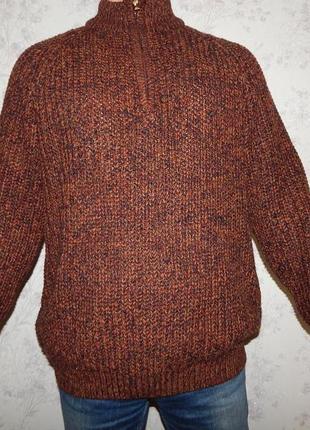 P.g. field свитер мужской под горло стильный модный рxl