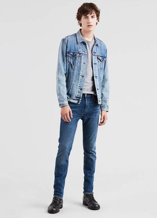 Стильные узкие джинсы levis 512
