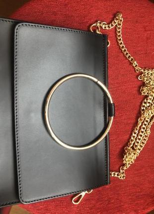 Кожаная сумка клатч , италия