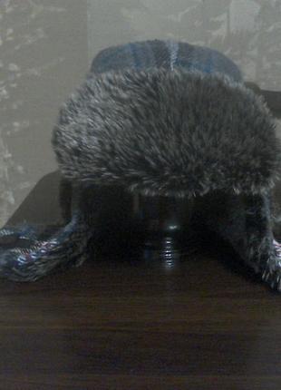 Шапки -ушанки  57 см.