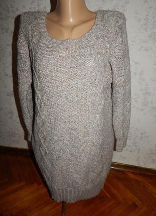 American eagle outfitters платье-туника вязаное, стильное, модное рl