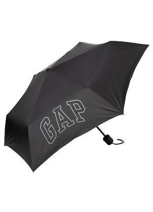 Стильный зонт gap зонтик оригинал сша черный мужской женский зонтик