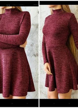 Платье цвета бордо atmosphere