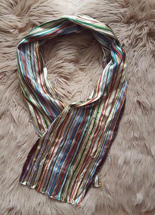 Яркий платок шарф paul smith,шелковый платок шарф,шелковый красный платок шарф