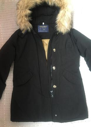 Зимняя куртка парка woolrich m-l