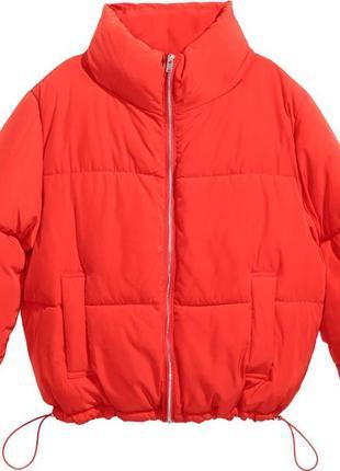 Куртка пуховик h&m